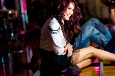 Dulce Maria Photoshoot INStudio