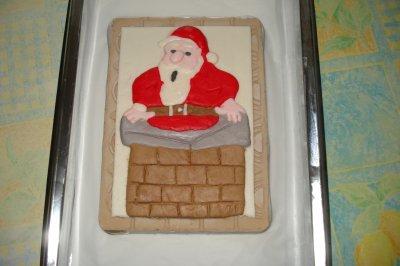 les gateaux disa du 45100  ............  Père Noël   ho ho ho!!!!!