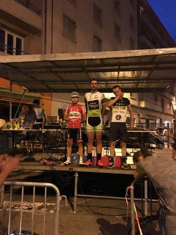 Prix cycliste de St Chamond: Une nouvelle victoire.