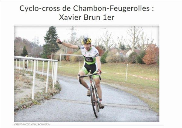 Le Chambon-Feugerolles:  Damien et Xavier victorieux.