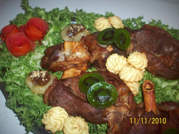 plat de viande