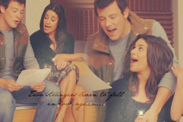 Finn Rachel et Kurt