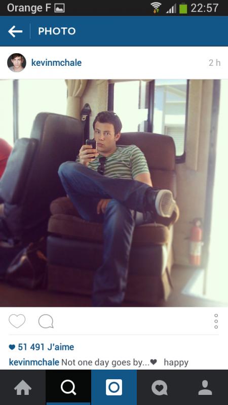 kevin sur instagram