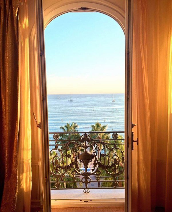 "Msleamichele : "" Room with a view... Cannes 🇫🇷"