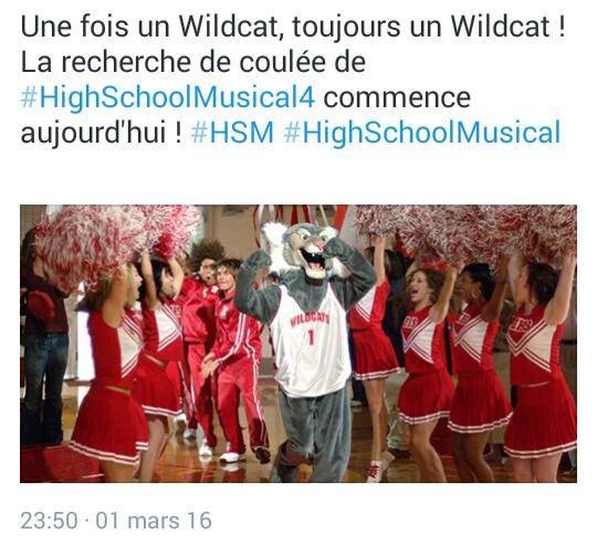 High School Musical : un 4ème tour de danse en préparation