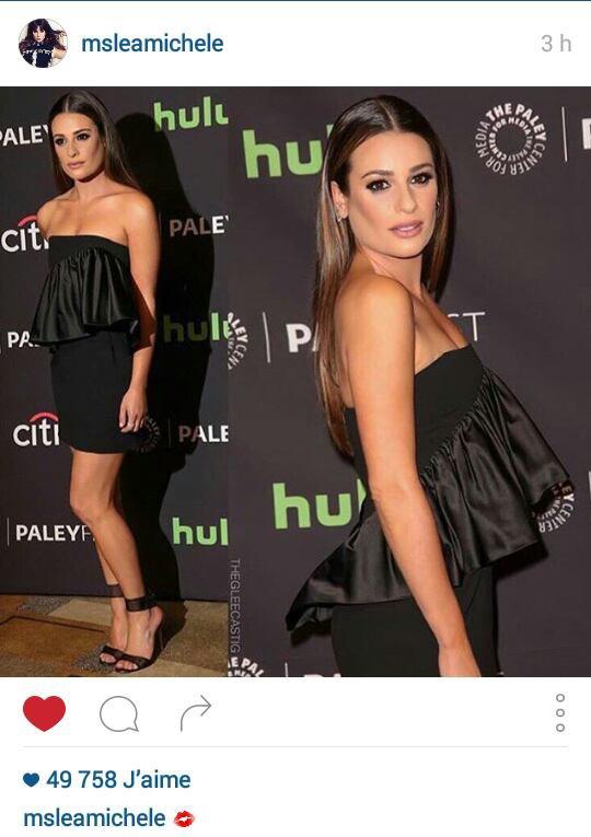 Lea Michele scream Queens saison 2  En Paleyfest