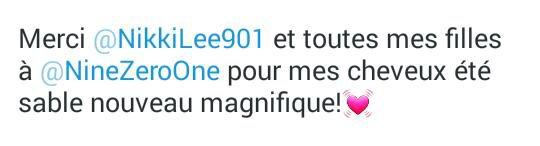Lea Michele sur Twitter