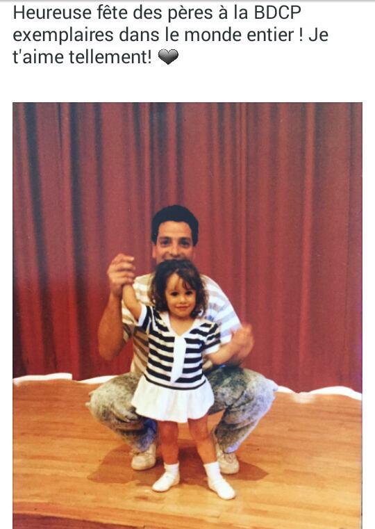 Lea Michele sur Twitter pour la fête des pères