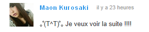 Maon Kurosaki X-Encounter (Je l'es !!!!!!!!!!!!!! X) )