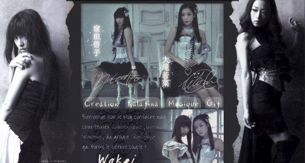 Nouveau design  du blog Keiko-X-Wakana