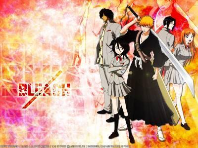 Le groupe de Ichigo ( Bleach)