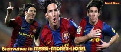 Bienvenue sur ta source de l'attaquant de Barcelone