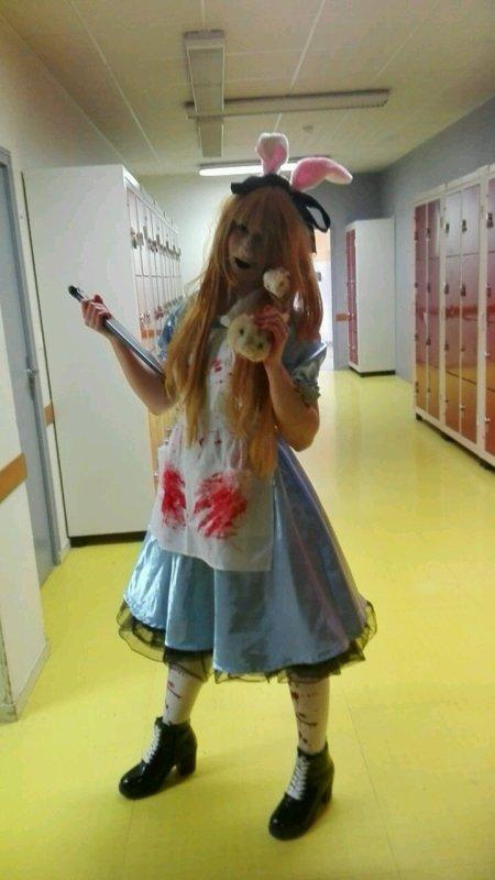 Halloween à l'internat