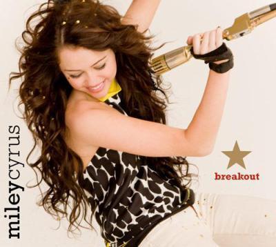 """Miley Cyrus a mis Hannah de coté pour  sortir son new album intitulé """"Breakout"""""""