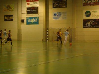 12/11/2010 6ème match de championnat ( Wanze )