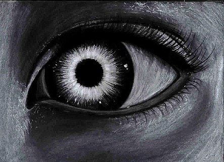 Dessin d 39 un oeil blog de scherbatsky - Dessin fond noir ...