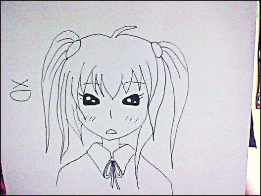 Après un très looooooong moment sans avoir dessiné, j'ai fais ses 2 là . . . Il faudrait que je m'y remette sérieusement,  j'avoue avoir perdu le coup de crayon >_<