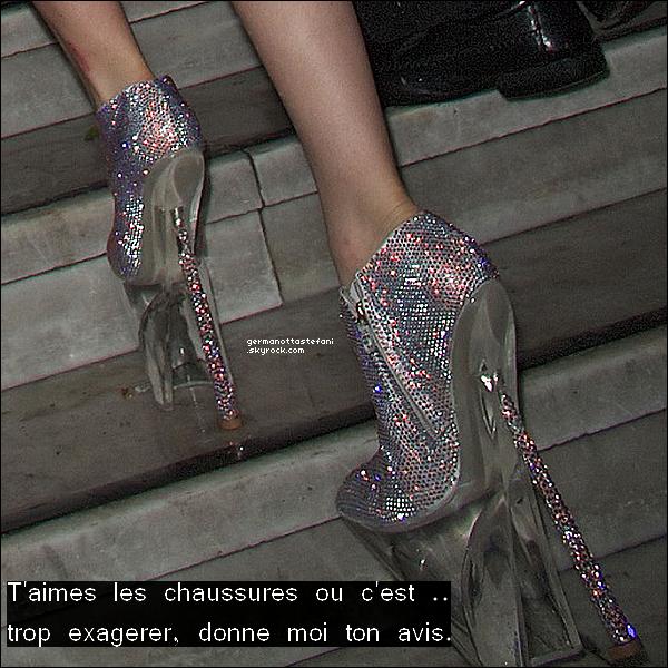 . 27/02/10 :   Stefani Germanotta arrivant au restaurant Mr Chow's dans Londres. Ton avis?     .