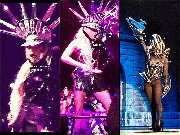 _  05/05/12 : Lady Gaga continue sa tournée mondiale encore à Hong Kong en Chine. _