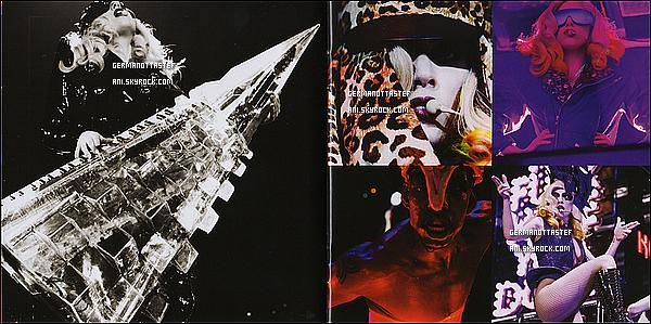 .     Découvrez des scans du DVD du « The Monster Ball Tour » réalisé en 2010 - 2011 ♛       .