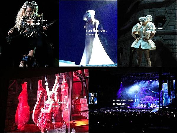 _  27/04/12 :  Gaga à enfin démarré sa grande tournée mondiale du Born This Way Ball aujourd'hui à Seoul. Lady Gaga a donnée son tout premier concert de sa tournée Born This Way Ball à Seoul en Corée du sud. Tu est déçus ou ravis ? _