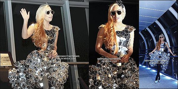 _  14/05/12 : Lady Gaga a été aperçue dans les rues de Harajuku faisant du shopping. _