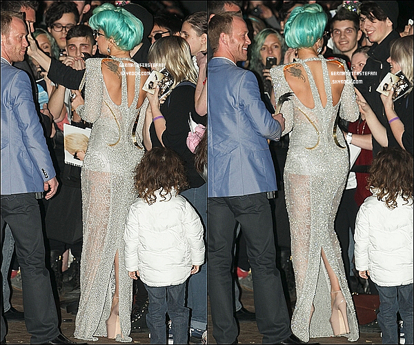 -[/align=center] 17/06/12 : Lady Gaga à été aperçue arrivant devant son hôtel de Sydney où elle fera ses prochaines dates de concert et comme a son habitude elle a signé quelques autographes à ses fans. Top ou Flop?  -[/align=center]