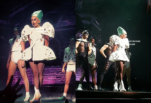 _  20/06/12 : Aujourd'hui, Gaga a donner son Born This Way Ball à Sydney (Australie). _