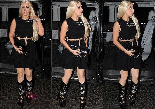 -[/align=center] 01/10/12 :  La blondinette Lady Gaga à été aperçue a la sortie de son hôtel situé à Milan. Top ou Flop?  -[/align=center]
