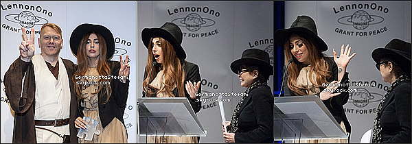 -[/align=center] 09/10/12 :  Lady Gaga aujourd'hui en Irlande pour le LennonOno Grant for Peace pour recevoir un prix.  -[/align=center]
