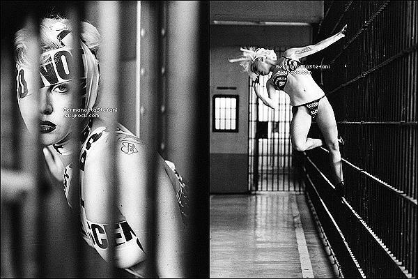 _  Deux ans après la sortie du clip de « Telephone », deux nouvelles images promo viennent de sortir. _