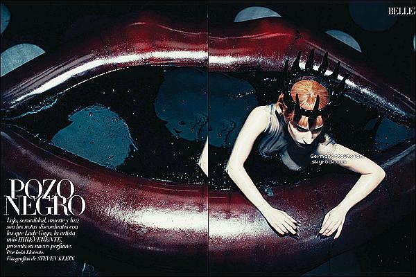 _  Lady Gaga dans la version espagnole du Harper's Bazaar. Voici les scans ci-dessous. _