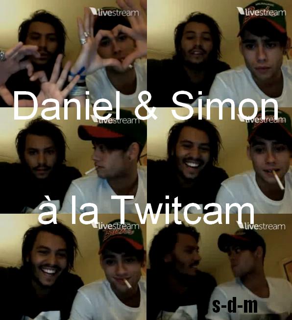 ♦ www.Source-Daniel-Mkongo.skyrock.com ; Daniel était en compagnie de Simon à la TwitCam le 30/09