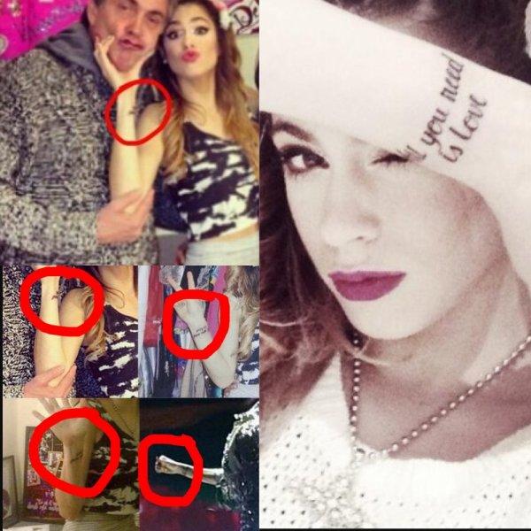 Martina c'est fait un tatouage !?!?