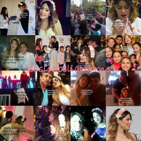 Violetta en vivo au Paraguay ! + image de Tini Stoessel personnelles !