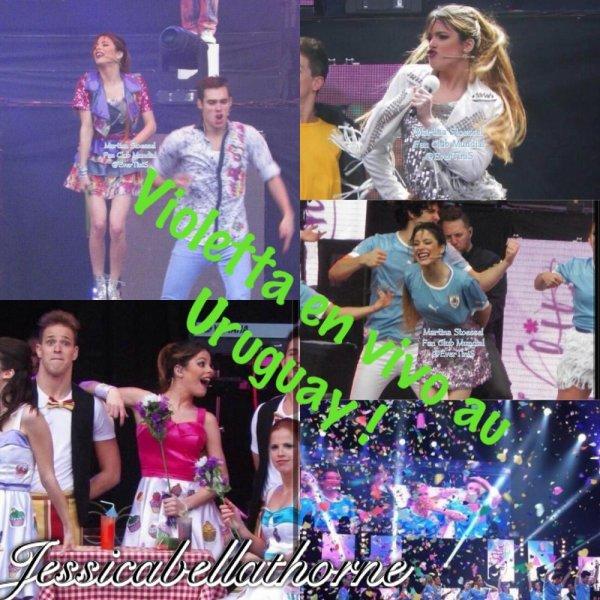 Violetta Uruguay !!! + nouvelle façon décoré mes articles ❤