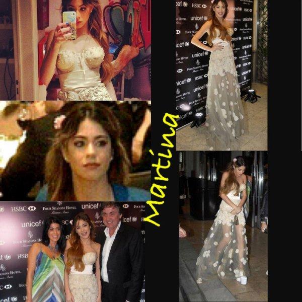 Uruguay + new image :-).  Et déclaration de Martina qu'elle est bien amoureuse de Peter ❤