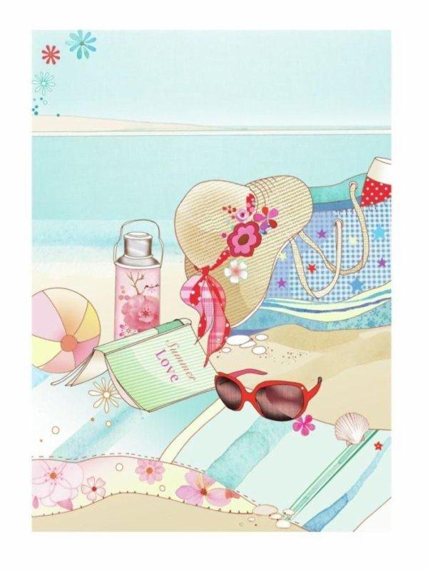 Coucou....bonne  vacances  a tous soleil plage repos  detente après tout les tracas que subit  bisou