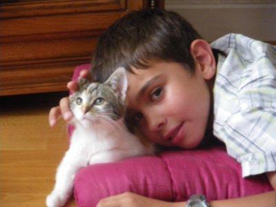 Voici mon fils de 10 Anthony