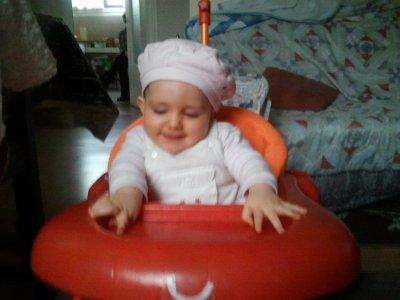 Et une autre petite de ma fille Célhéna.
