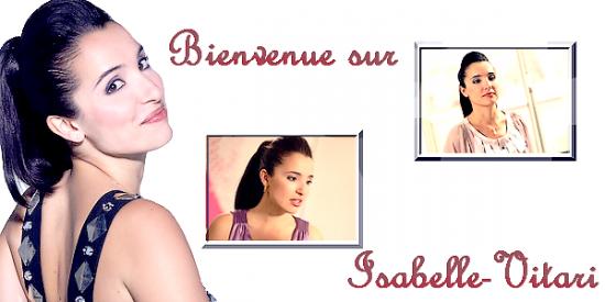 ♥ Isabelle-Vitari vous souhaite la bienvenue ♥