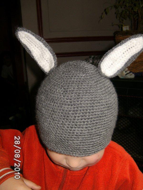 bonnet oreille de bugs bunny ....
