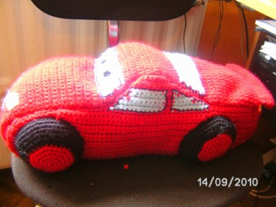 voiture Cars au crochet