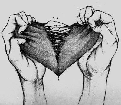 Coeur brisé. Sentiment de trahison.