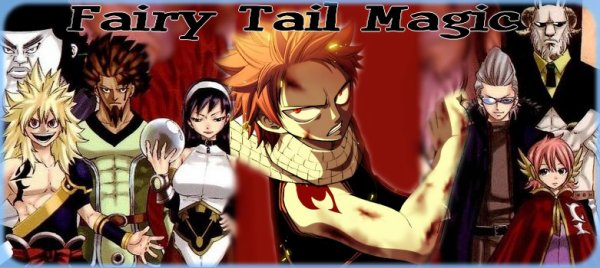 FAIRY TAIL MAGIC FORUM