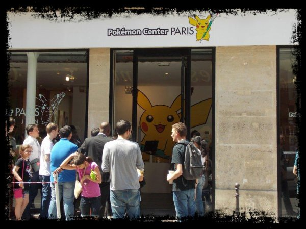 [ REPORTAGE ] Centre Pokemon de Paris