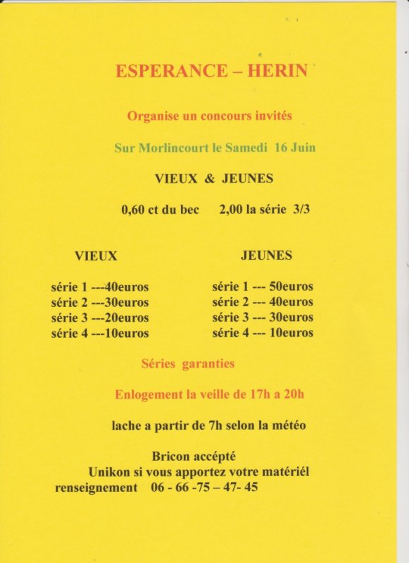 Morlincourt Hérin invités