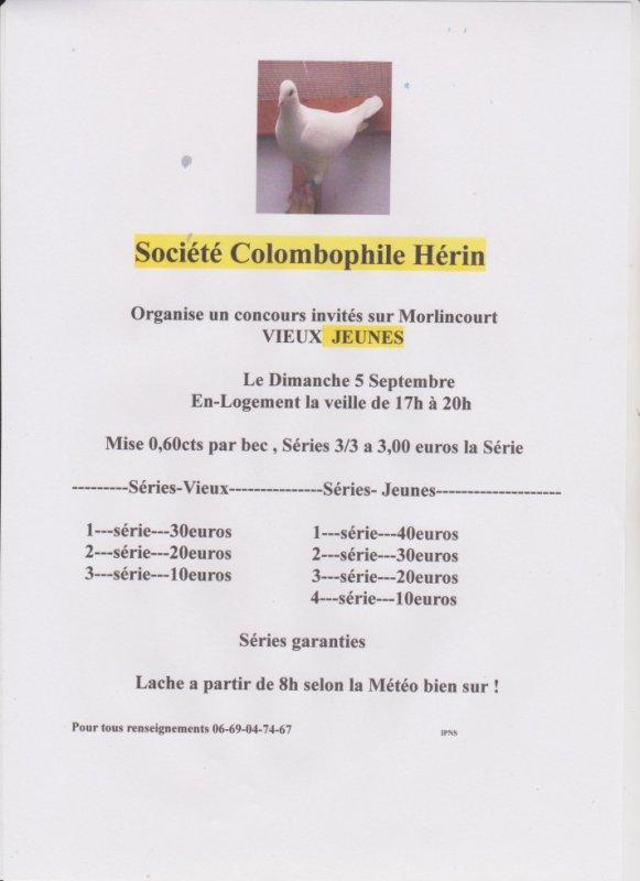 Morlincourt du 05 Septembre invités