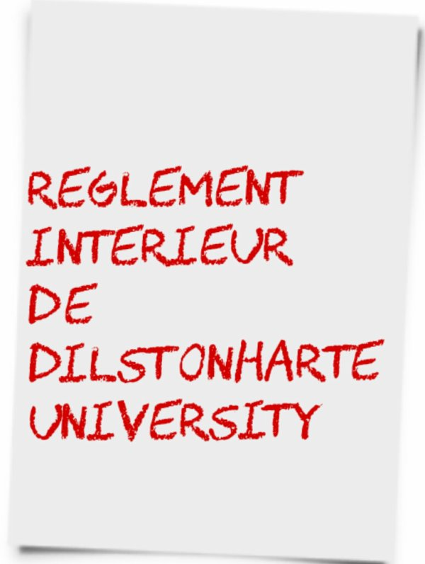 Règlement de DilstonHarte University