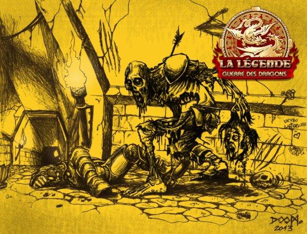 """Palais de Maghit... """"Légende la guerre des dragons"""""""